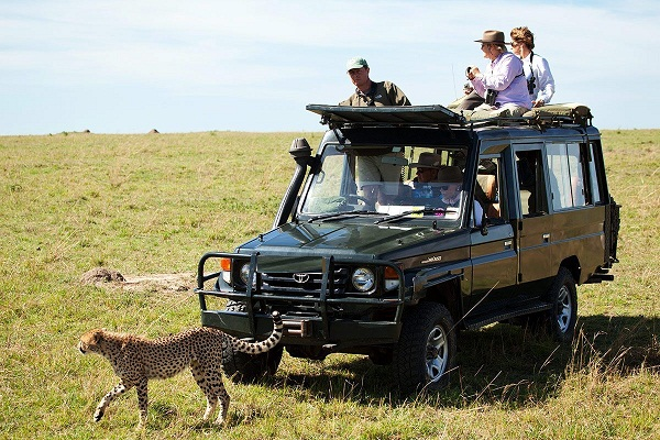 Masai Mara National Game Reserve.