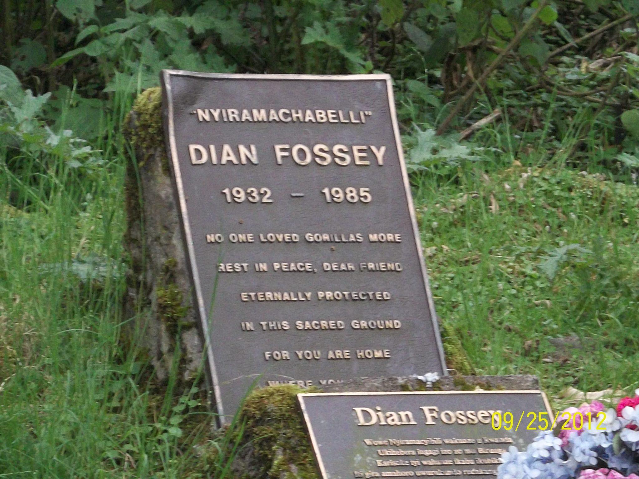 Visit to Dian Fossey Grave in Volcanoes National Park-Rwanda